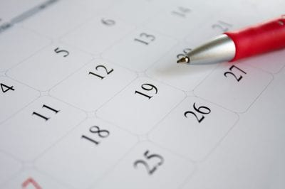 online legal secretary handles law office calendar