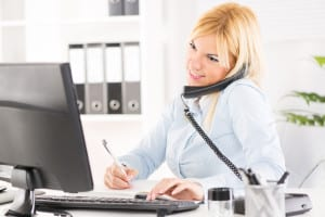 Let our virtual assistant handle the mundane phone calls and client paperwork