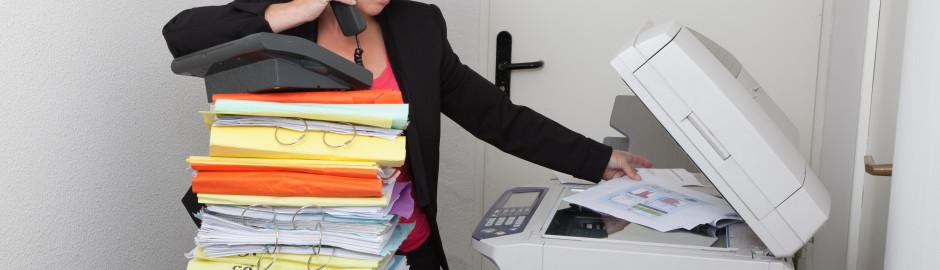 paying someone to make copies