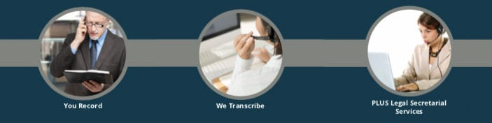 E-Typist--You record, we transcribe, PLUS legal transcription and secretarial services