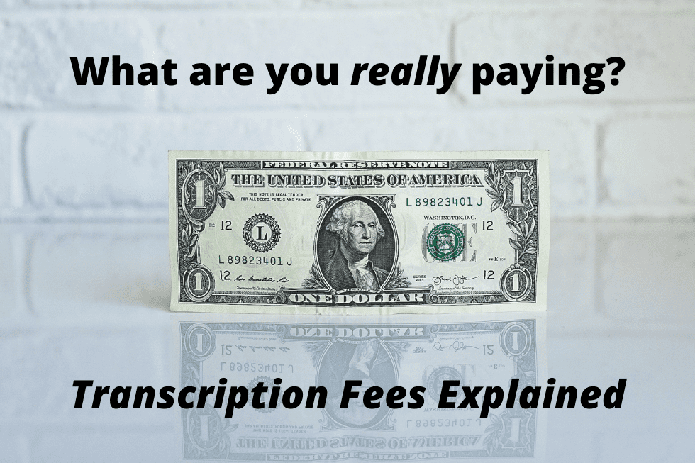 Why E-Typist Doesn't Charge Extra Fees